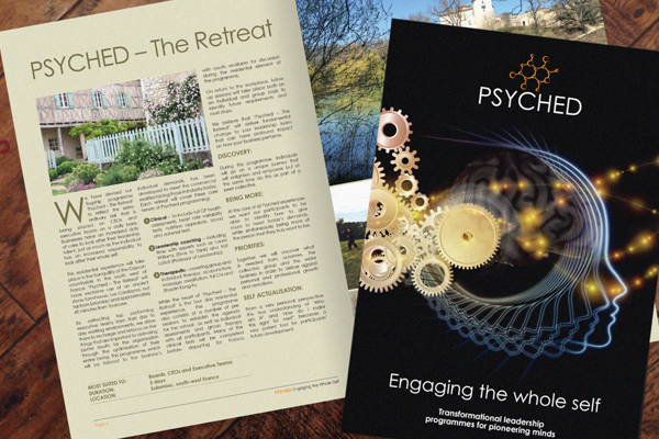 Engage the Whole Self with our Psyched brochure